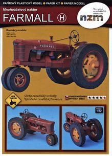 Traktor Farmall (1:32 model)