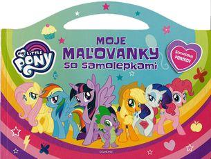 My Little Pony - Moje maľovanky so samolepkami