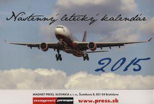 Nástenný letecký kalendár - 2015
