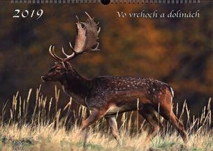 Nástenný kalendár (2019) - Vo vrchoch a dolinách