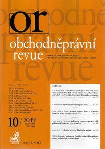 Obchodněprávní revue - predplatné