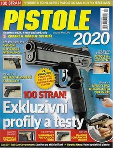 Zbraně a náboje speciál - Pistole 2020