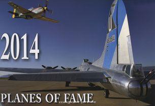 Planes of fame 2014 - nastenný kalendár