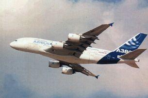 Pohľadnica Airbus A 380