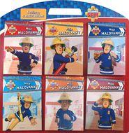 Požiarnik Sam - 6 bločkov s maľovankami