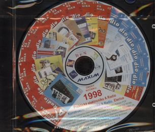 CD Amatérské radio - Praktická elektronika ročník 1998