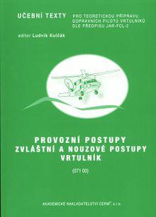 Provozní postupy - zvláštní a nouzové postupy vrtulník