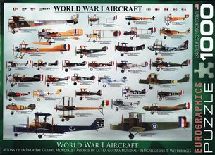 Puzzle 1000: WORLD WAR I AIRCRAFT