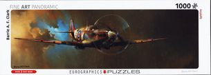 Puzzle 1000: FINE ART PANORAMIC - SPITFIRE