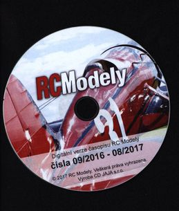 CD rom - RC modely č. 2016/09 - 2017/08