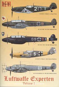 Luftwaffe experten volume 1 ( mierka 1:48 )