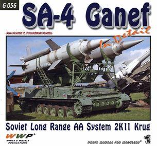 SA-4 Ganef - Soviet long range AA System 2K11 Krug