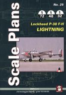 Scale Plans - Lockheed P-38 F-H Lightning