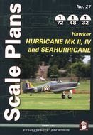 Scale Plans - Hurricane Mk II, IV and Sea Hurricane