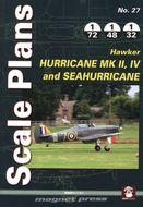 Scale Plans - Hurricane Mk II, IV and Sea Hurricane