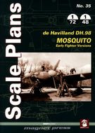 Scale Plans - De Havilland Mosquito, Early Fighter Versions