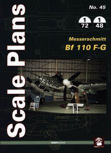 Scale Plans No. 45 Messerschmitt Bf 110 F-G