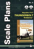 "Scale Plans - Republic P-47 Thunderbolt ""Bubbletop"""