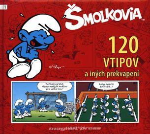 Šmolkovia - 120 vtipov a iných prekvapení