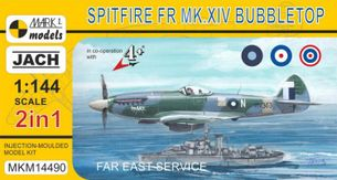 Model Spitfire FR Mk.XIV Bubbletop Far East Service (1:144)
