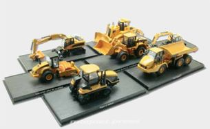 Stavební stroje - kolecia modelov