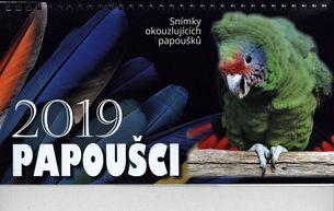 Stolový kalendár 2019: Papoušci