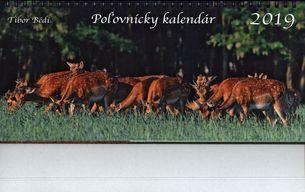 Stolový kalendár (2019) poľovnícky