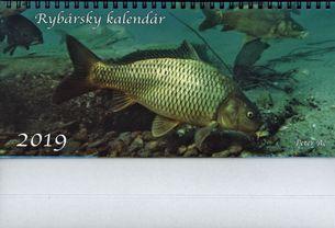 Stolový kalendár (2019) rybársky
