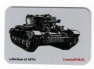 Kovová magnetka - Motív collection of AFVs - Cromwell Mk IV.