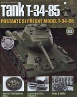 Tank T-34-85 č.83
