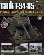 Tank T-34-85 č.91