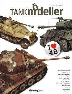 TANK MODELLER-AFV MODELS IN SCALE VOLUME 1 - I LOVE 48