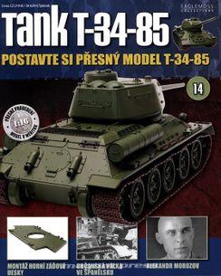 Tank T-34-85 č.14