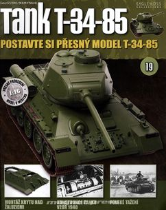 Tank T-34-85 č.19