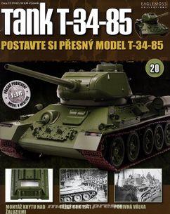 Tank T-34-85 č.20