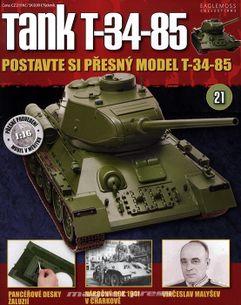 Tank T-34-85 č.21
