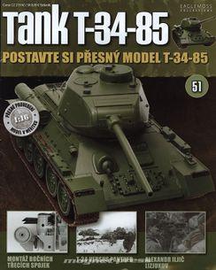 Tank T-34-85 č.51