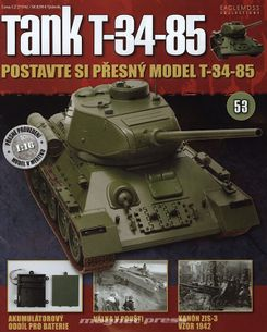 Tank T-34-85 č.53
