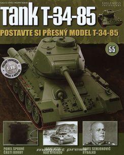 Tank T-34-85 č.55