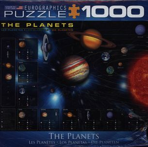 Puzzle 1000: Planéty (The Planets)