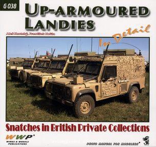 Up-armoured Landies in detail