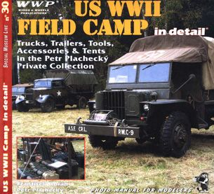 Us WWII Field Camp in detail