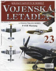 Vojenská letadla č.23