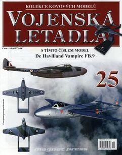Vojenská letadla č.25