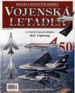 Vojenská letadla č.50