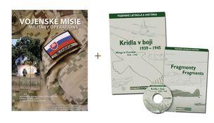 Vojenské misie + Krídla v boji 1939-1945