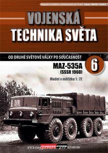 Vojenská technika světa č.6 - MAZ-535