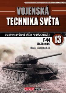 Vojenská technika světa č.13 - tank T-44
