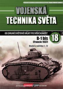 Vojenská technika světa č.18 - tank B-1 bis