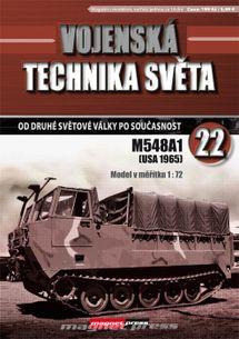 Vojenská technika světa č.22 - pásový transportér M548A1